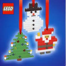 lego tree decorations natal