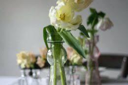 Bottle Vases Wholesale Dark Blue Glass Vases Zinc Cylinder Vase Pillar Candle Holder 8