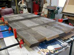 Making A Wooden Table Top by The Great Indoors Our Reclaimed Barnwood Table