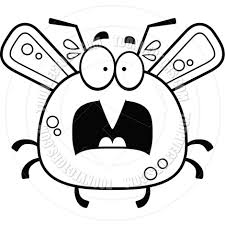mosquito clipart scared pencil and in color mosquito clipart scared