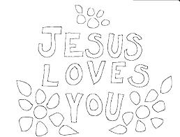 jesus loves me coloring pages simple coloring jesus loves me