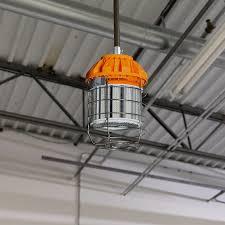temporary job site lighting 80 watt temporary led job site light w power cord and safety hook