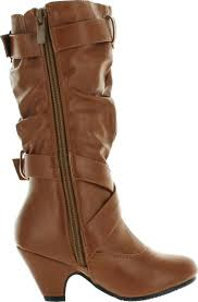 s boots with buckles link s pauline 38 kitten heel boots with decorative