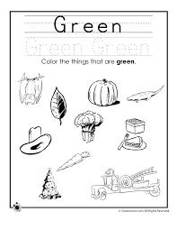 coloring pages green worksheets color worksheets for preschool