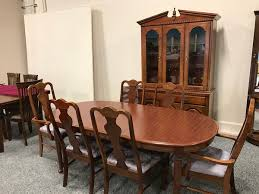 Broyhill Dining Chairs Broyhill Dining Table Set Allegheny Furniture Consignment