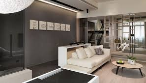 Loft Style Living Room Contemporary Loft Style Apartment Design Makes You Feel Stunning