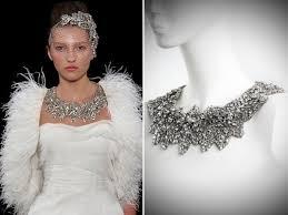 statement necklace wedding images Stunning statement bridal necklace by jenny packham jpg