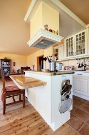 Kitchen Island With Overhang by Cream White Kitchen Island Vent Hood Combined L Shaped Overhang