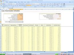 Mortgage Calculator Amortization Table by Mortgage Calculator Spreadsheet Haisume