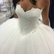 princess off shoulder french lace sequins beads puffy ball gown