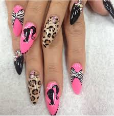 343 best leopard nails images on pinterest leopard prints