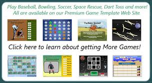 powerpoint template games for education powerpoint template games