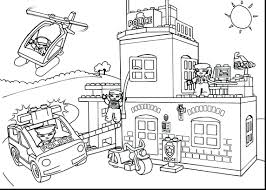 lego fire truck coloring pages train movie party police lego