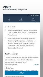naukri job android apps google play