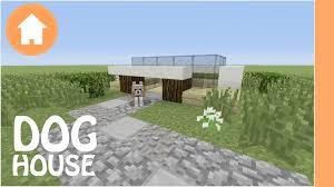 minecraft tutorial dog house tutorial youtube