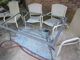 Replace Glass On Patio Table by Glass Patio Table Repair Glass Patio Table And Chairs