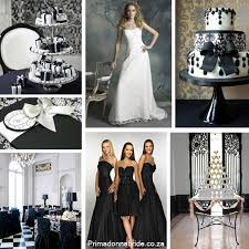 black and white wedding black and white wedding primadonna