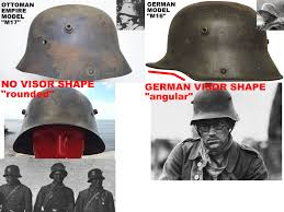 Ottoman Germany Soldiers Of The Ottoman Empire Wear Wrong Helmets German M16