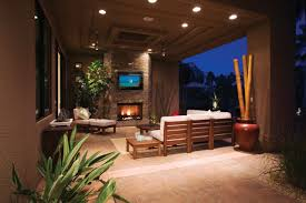 outdoor tv enclosure for your outdoor entertainment area rustic