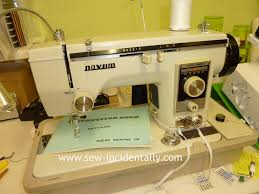 sew incidentally novum model ix sewing machine instruction book