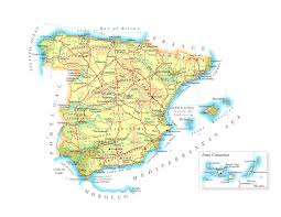 Espana Map Maps Of Spain Map Library Maps Of The World