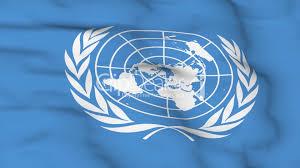 United Nation Flag Flying Flag Of United Nations Lizenzfreie Stock Videos Und Clips