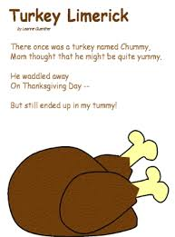 turkey dinner poem