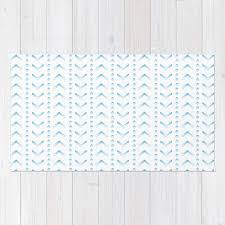 Pink Ombre Rug Woven Rug Floor Mat Ombre Chevron Dots White Mint Yellow