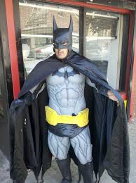 halloween city returns sad city hartford batman dark knight of park street