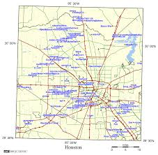 Houston Tx Zip Code Map by The Texas Furry Map