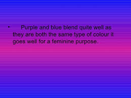 what goes well with blue colours