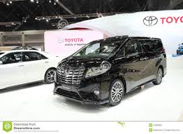 international toyota bangkok march 25 toyota all new alphard car on display at the