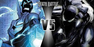 image blue beetle black spider man png death battle wiki