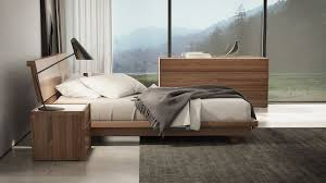Modern Platform Bedroom Sets Swan Modern Platform Bed Huppe