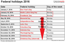 is day after thanksgiving a federal 2016 best 2017