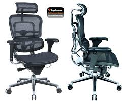Ergonomic Office Chairs Reviews Ergo Desk Chair Deluxe Heavy Duty Ergonomic Office Chairs