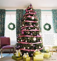 purple christmas tree beautiful christmas trees its overflowing