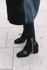 womens boots in style 2017 shoes boots fashion week 2017 streetstyle heel boots