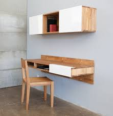 Wall Mounted Office Desk Laxseries Wall Mounted Desk 3x Shelf Office Chair Modern