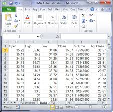 how to calculate ema in excel