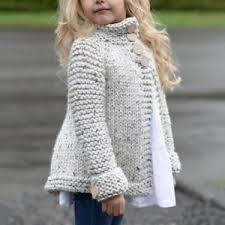 Sweater Toddler Toddler Baby Clothes Button Knitted Sweater Cardigan