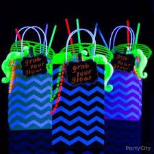 glow party ideas neon theme party
