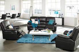 Harvey Norman Recliner Chairs Angelina 3 Piece Leather Recliner Lounge Suite Harvey Norman New