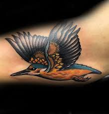 40 traditional bird tattoo designs for men old ideas