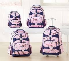 Pottery Barn Batman Backpack Mackenzie Pink Horses Backpack Pottery Barn Kids