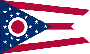 5 best images of ohio state flag printable ohio state flag