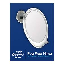 fog free mirror for shaving includes free uk delivery king of