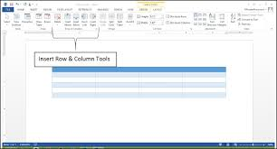 table tools design tab table tool enhancements in word 2013 microsoft training it