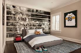 Baseball Decorations For Bedroom by 47 Really Fun Sports Themed Bedroom Ideas Home Remodeling