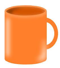 Heart Shaped Mug by Clipart Mug